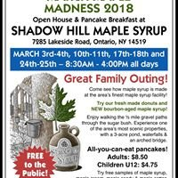 Shadow Hill Maple Syrup