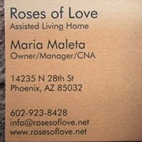 Roses of Love Assisted Living Home