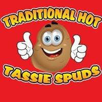 Traditional hot tassie spuds