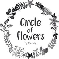 Circle of flowers by Mandy