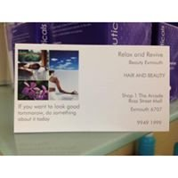 Relax and Revive Hair & Beauty Exmouth