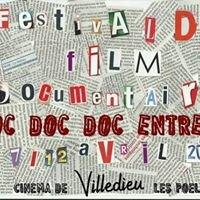Festival de film documentaire Doc Doc Doc Entrez