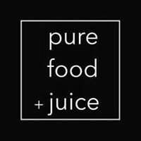 Pure food and juice