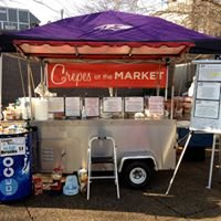 Crepes at the market