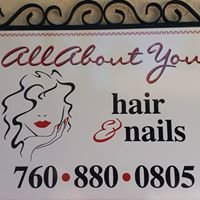 All about You   A Hair &  Nail Salon