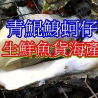 青鯤鯓蚵仔青山漁港生鮮魚貨