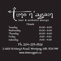 Time N' Again Hair Design and Esthetics