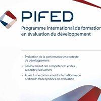 Programme international de formation en évaluation du développement - PIFED