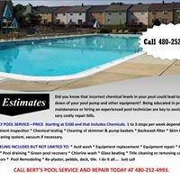 Bert's Pool Service