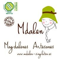 Mdalen - magdalenas sin gluten-