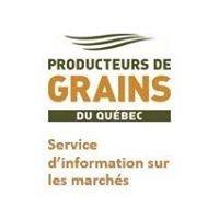 Service d'information sur les marchés des Producteurs de grains du Québec