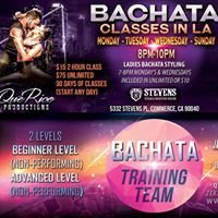 Bachata Lessons Los Angeles