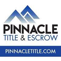 Pinnacle Title & Escrow, Inc.