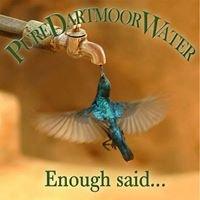 Pure Dartmoor Water