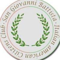 Italian American Citizens Club - San Giovanni Battista