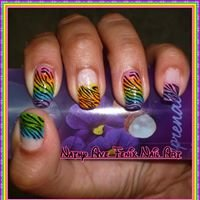 Nathy ave fenix nail art