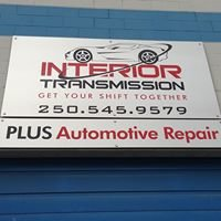 Interior Transmission 'Plus' Auto Repair