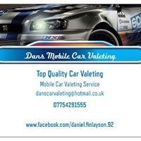 Dans-Mobile Car Valeting