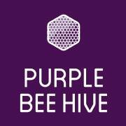 Purple Bee Hive
