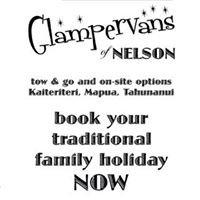 Glampervans of Nelson; Kaiteriteri, Mapua, & Tahuna