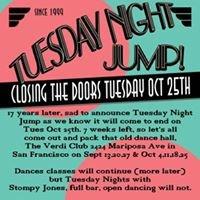 Tuesday Night Jump at Verdi Club