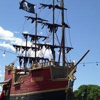 Scallywags Snow Cone Pirate Ship