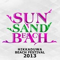 SUN SAND BEACH Hikkaduwa Beach Festival 2013