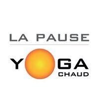 La pause yoga chaud