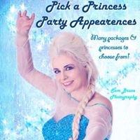 Pick A Princess Party Appearances