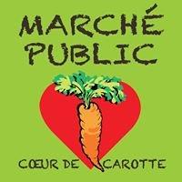 Coeur de carotte Le marché public de Cowansville