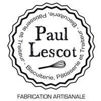Paul Lescot: Biscuiterie, pâtisserie, traiteur