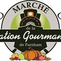 Marché public de la Station Gourmande de Farnham