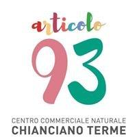 Articolo 93 Centro Commerciale Naturale Chianciano Terme
