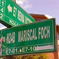 La Foch, La Mariscal, La Floresta, Guápulo