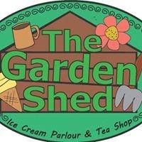The Garden Shed Ice Cream Parlour and Tea Shop at Arthur Lane Nurseries