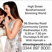High Street Borehamwood Slimming World