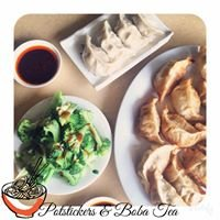 Potstickers & Boba Tea
