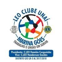 "LEO Clube  Unaí "" Marina Góes""  LB-3"