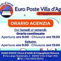 Euro Poste Villa d' Agri