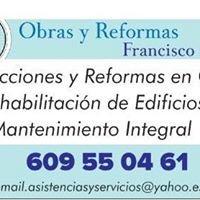 Francisco Ortega  Obras y Reformas