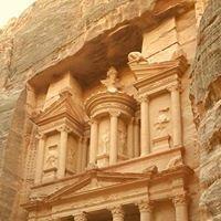 The UNESCO 7th World's Wonder,Al-Khazneh Treasury ,Wadi Musa Petra