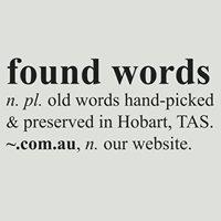 Found Words