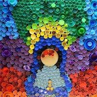 პლასტმასის ბოთლის თავსახურები ხელოვნებაში -  Plastic Bottle Cap Art