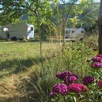 La page du camping des Barillons