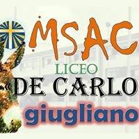 """MSAC - Liceo """"De Carlo"""""""