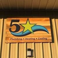 5 Star Plumbing, Heating & Cooling