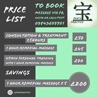 Poh's Practice - Remedial Massage and Personal Training