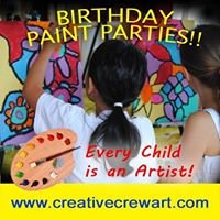 Creative Crew Art Parties