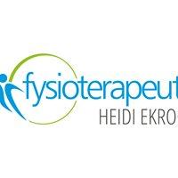 Fysioterapeutti Heidi Ekroos