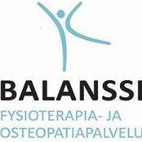 Fysioterapia- ja Osteopatiapalvelu Balanssi Oy